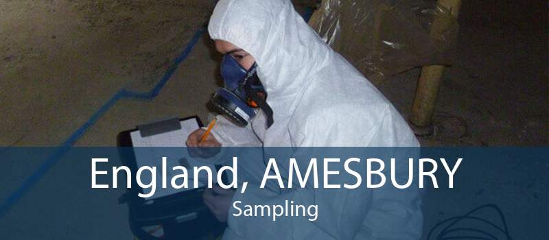 England, AMESBURY Sampling