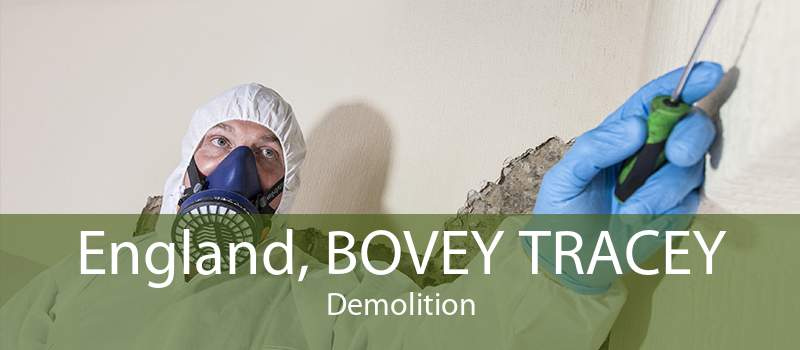 England, BOVEY TRACEY Demolition