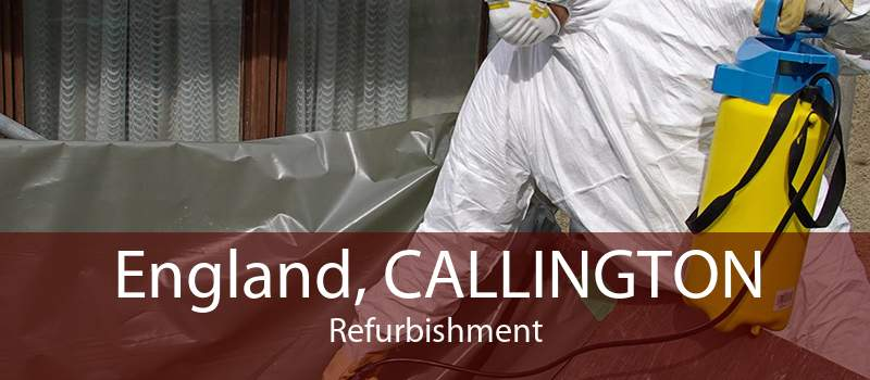 England, CALLINGTON Refurbishment