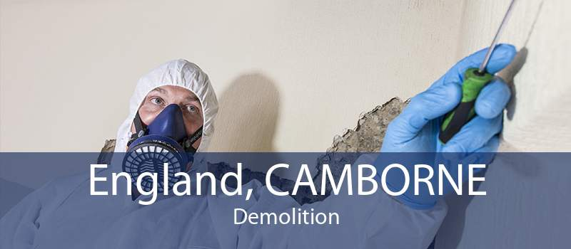 England, CAMBORNE Demolition