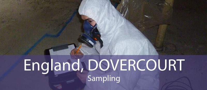 England, DOVERCOURT Sampling