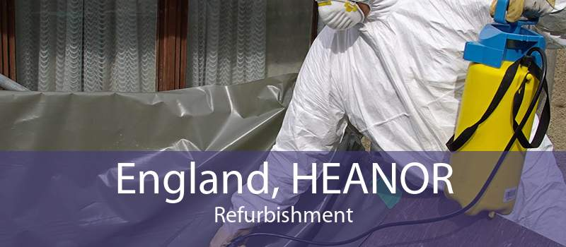 England, HEANOR Refurbishment