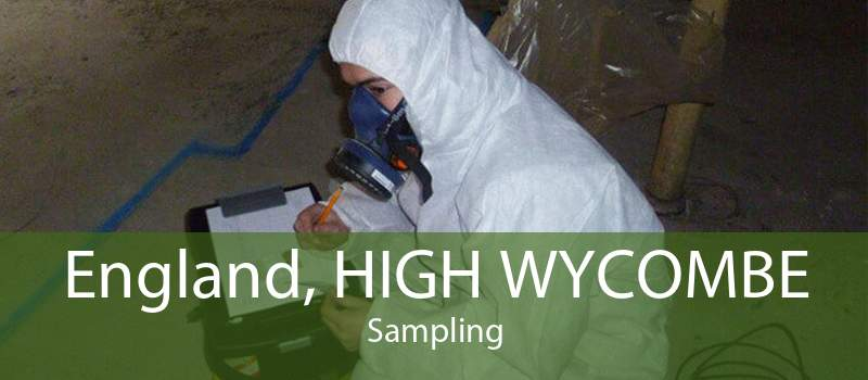 England, HIGH WYCOMBE Sampling