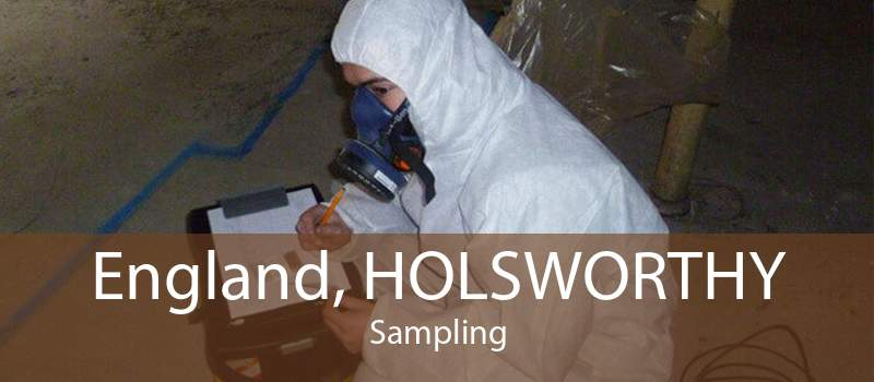England, HOLSWORTHY Sampling