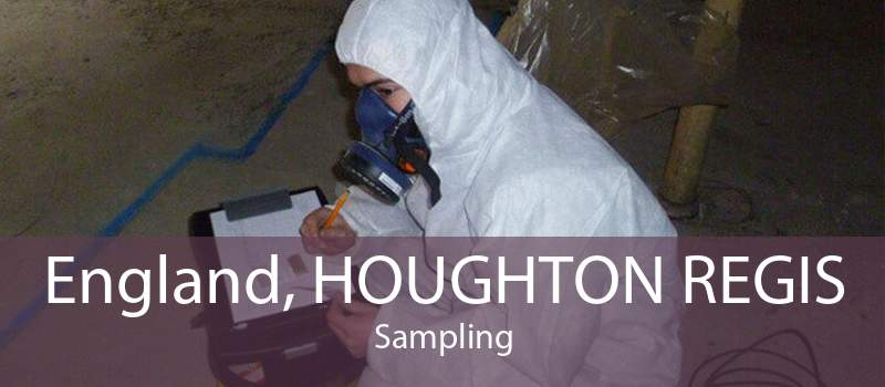 England, HOUGHTON REGIS Sampling