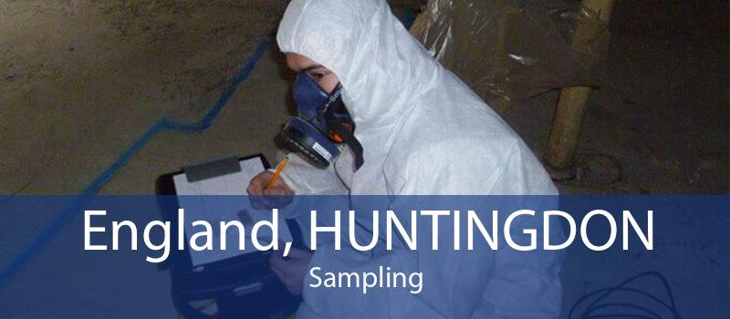 England, HUNTINGDON Sampling