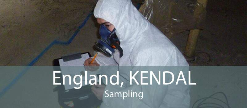 England, KENDAL Sampling