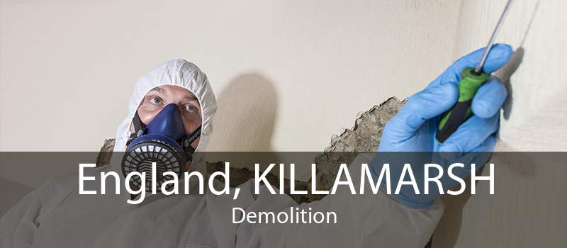 England, KILLAMARSH Demolition