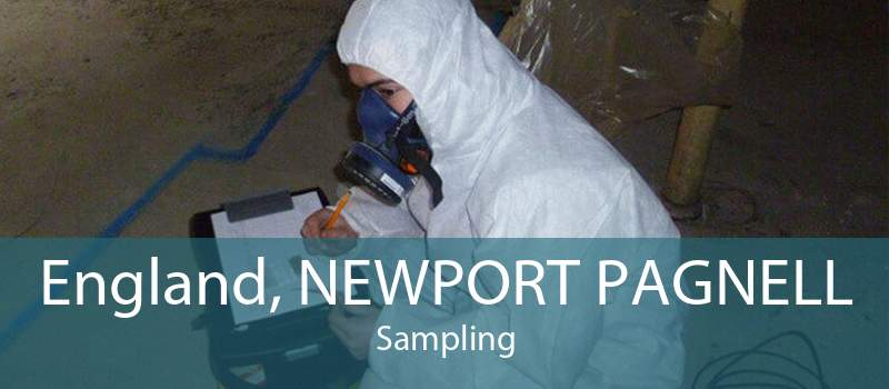 England, NEWPORT PAGNELL Sampling