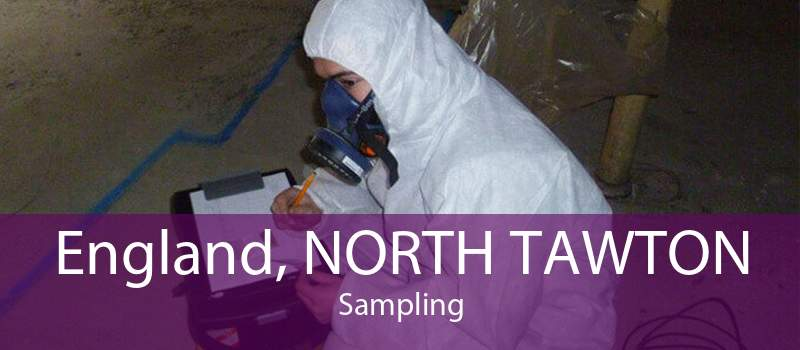 England, NORTH TAWTON Sampling