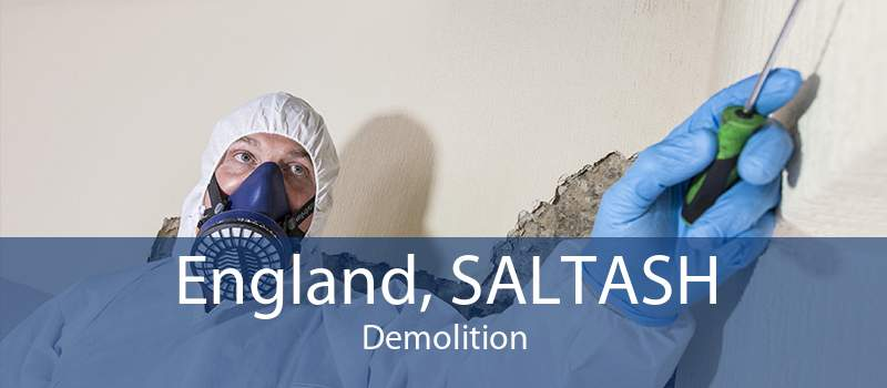 England, SALTASH Demolition