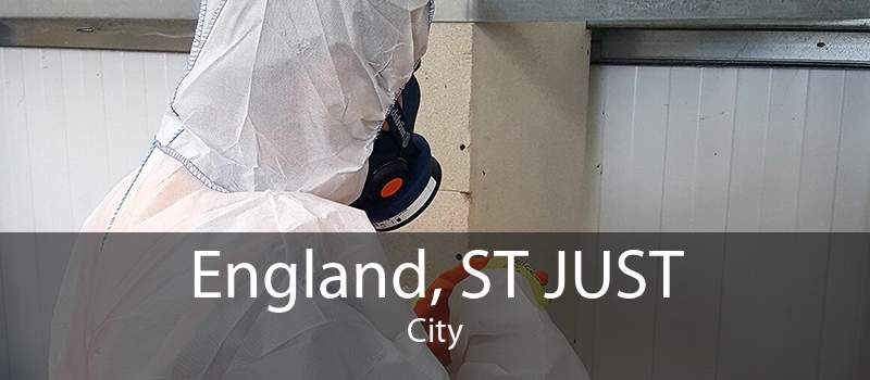 England, ST JUST City