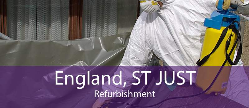 England, ST JUST Refurbishment