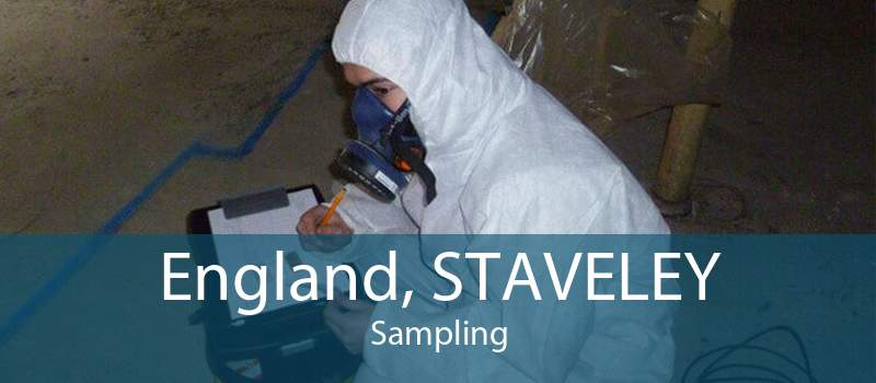 England, STAVELEY Sampling