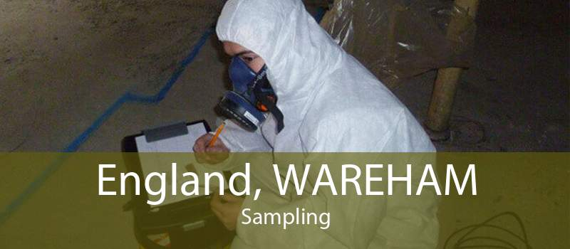 England, WAREHAM Sampling