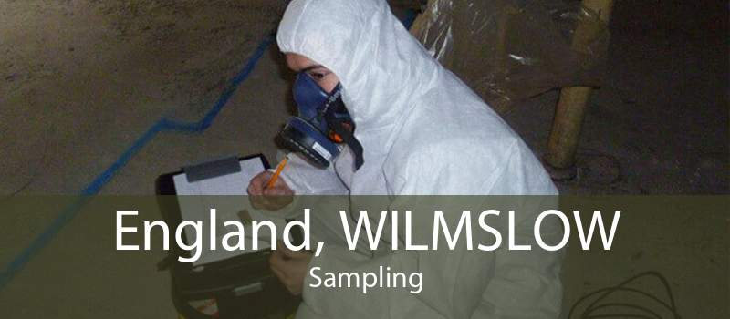 England, WILMSLOW Sampling