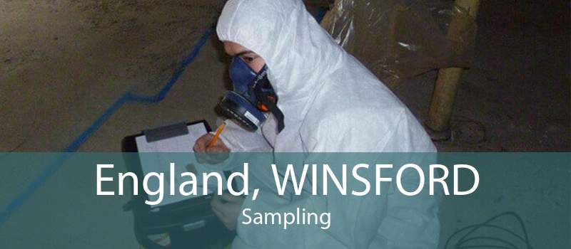 England, WINSFORD Sampling